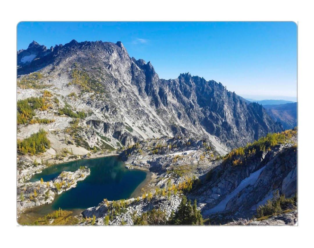 4x5.5 magnet, Alpine Lakes Wilderness - $5