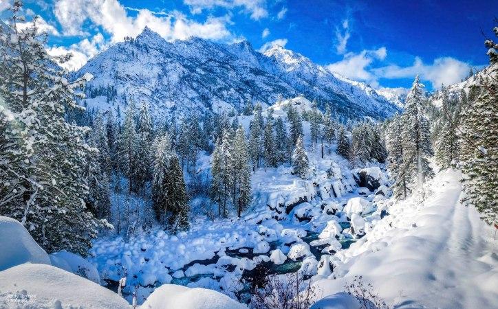 Icicle Creek Winter Pano - Feb 2019