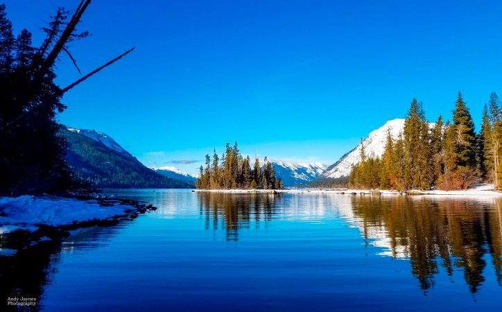 Lake Wenatchee Winter Reflections - Jan 2019