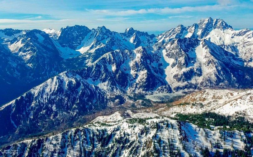 Cascade Mountains - winter 2017