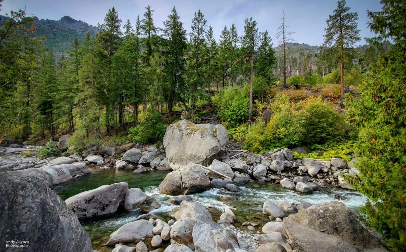 Late Summer along Icicle Creek - 2019