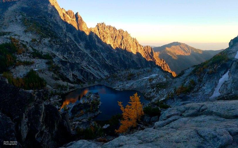 Reflection Sunset in the Alpine Wilderness - 2017