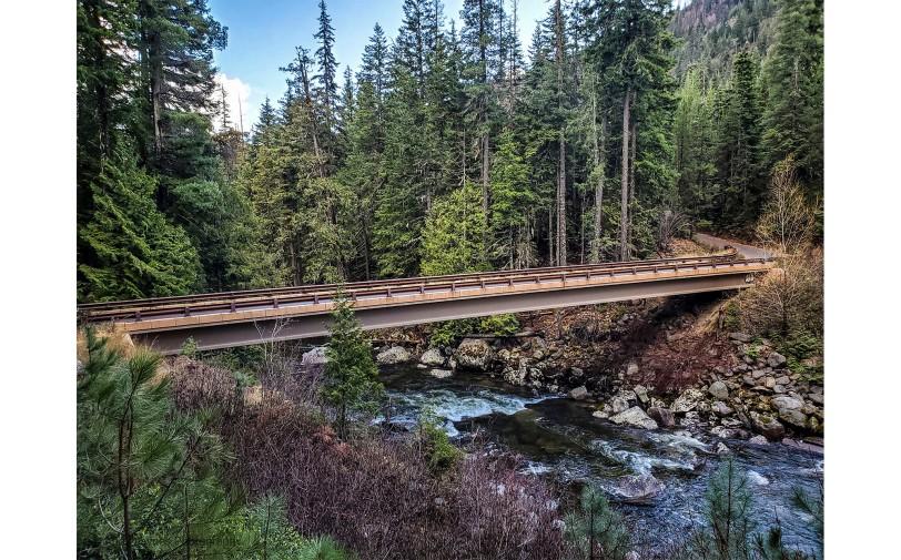 Icicle Creek Bridge - 2019