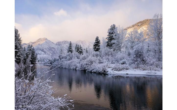 Icicle Creek Sunrise 2-Dec 2019