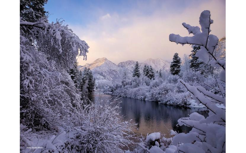 Icicle Creek Sunrise 3-Dec 2019