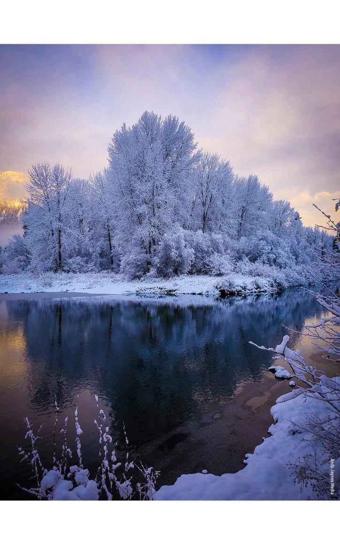 Icicle Creek Sunrise 4-Dec 2019