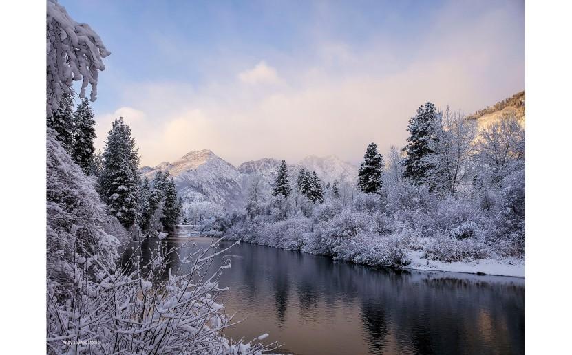 Icicle Creek Sunrise-Dec 2019