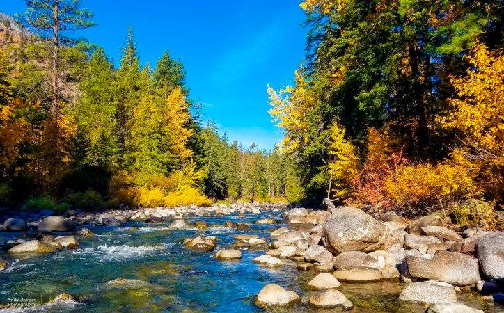 Icicle Creek Fall Colors - 2018