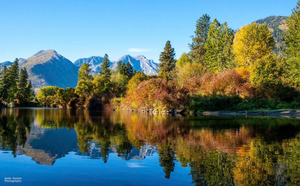 October - Icicle River Reflections