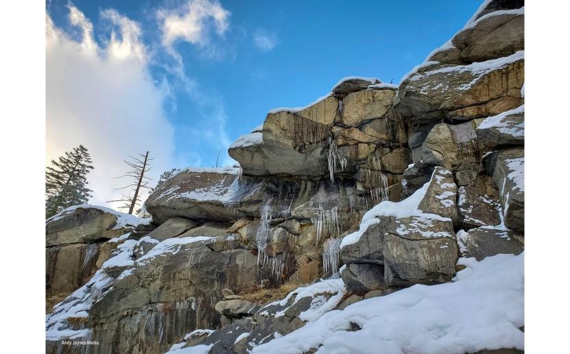 Icicles on Rocks - Dec 2019