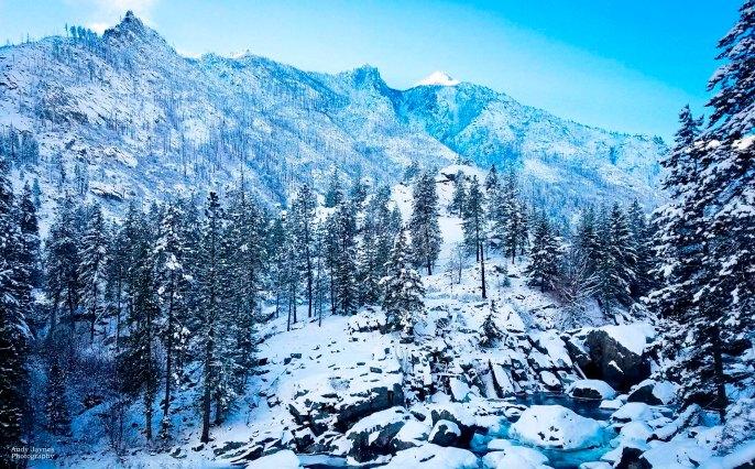 January - Snow Lakes Trailhead
