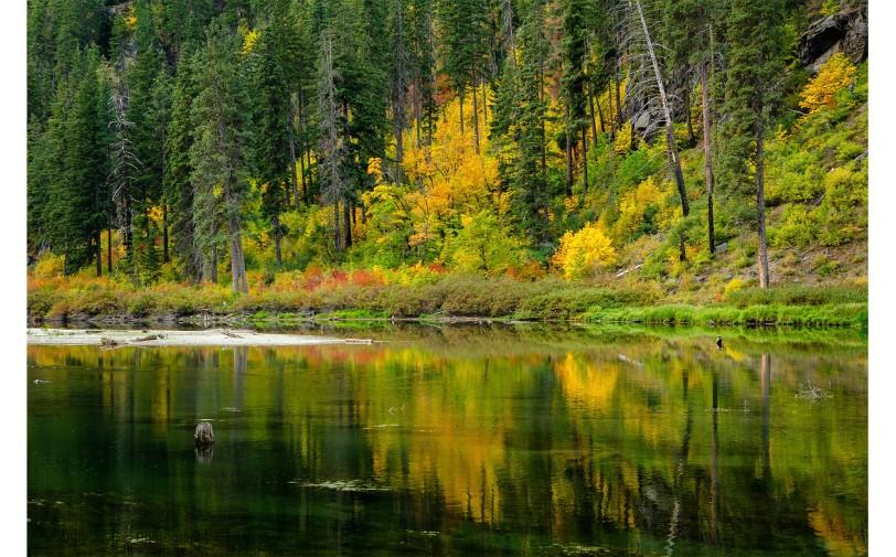 Lake Jolanda Fall Reflections - 2019