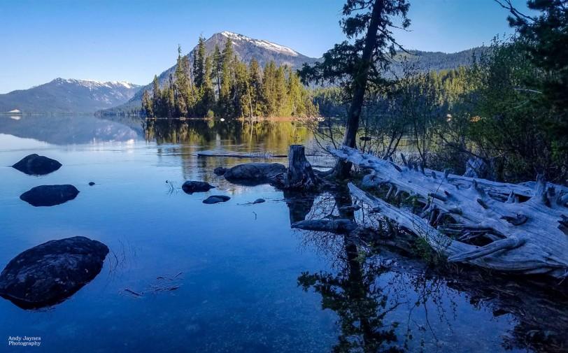 Lake Wenatchee Morning Reflections - 2019