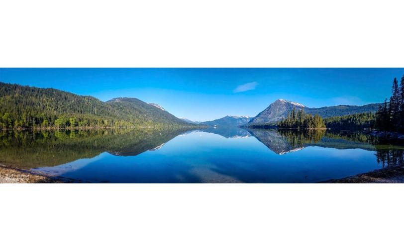 Lake Wenatchee Reflections - Spring Pano - 2019