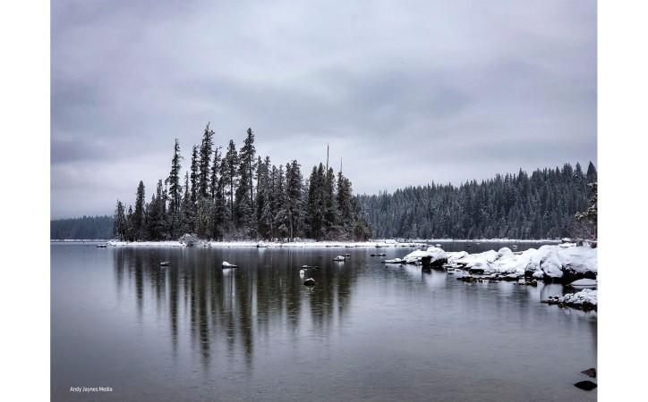 Lake Wenatchee Snow 1 - Dec 2019