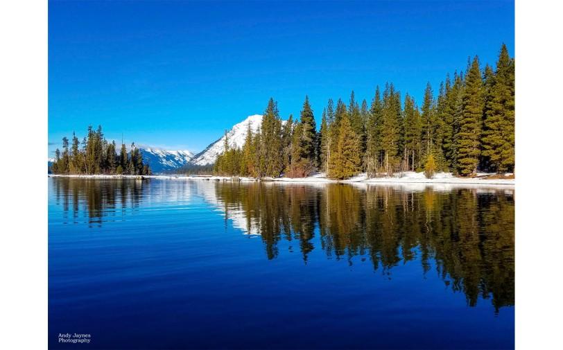 Lake Wenatchee Winter Reflections-1 - 2019