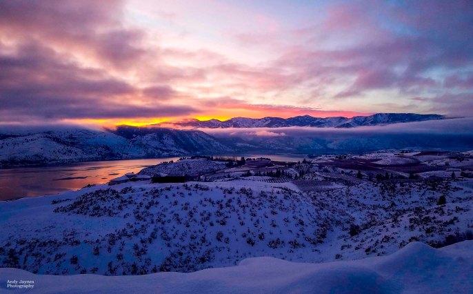 Lake Chelan perfect sunset - 2017