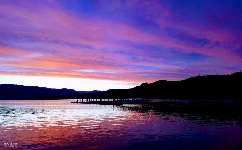 Purple waters at Lake Chelan - 2017