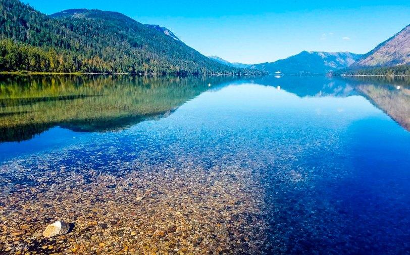 Lake Wenatchee shallow reflections - 2018