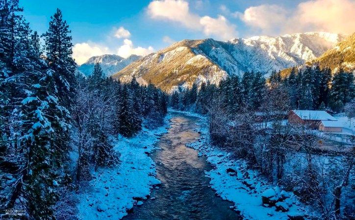 Leavenworth Sunrise on the River - 2018