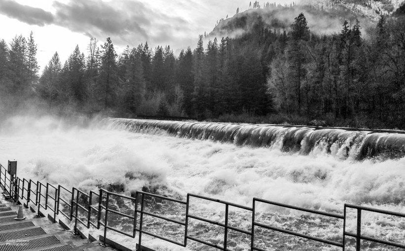 Tumwater dam Highwater - 2017