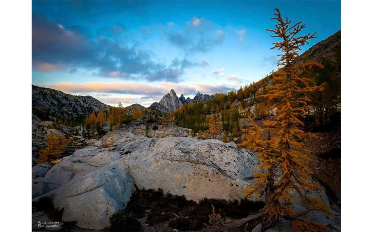 Prusik Peak Sunset and Larch-2 - 2017
