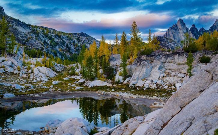 Prusik Peak Sunset Reflection-2 - 2017