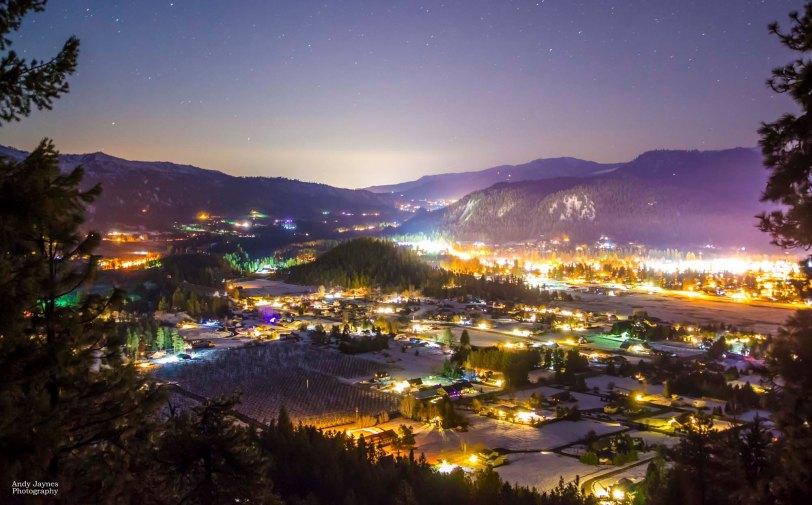Leavenworth at Night - 2018