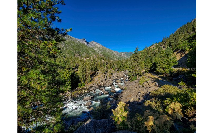 Icicle Creek Pano - June 2019