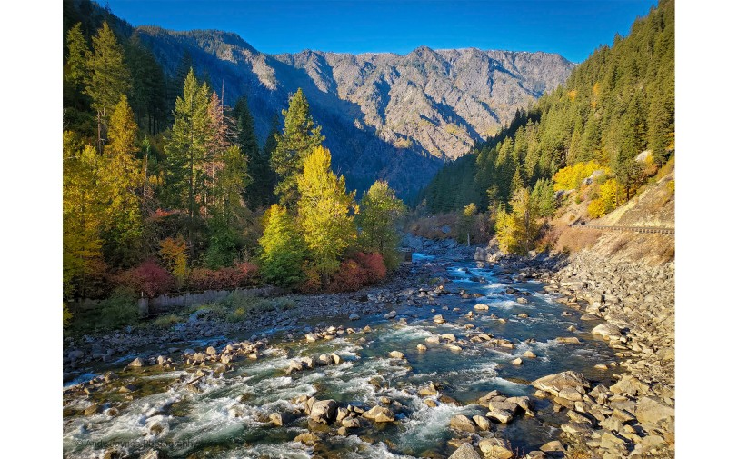 Tumwater Canyon and Wenatchee River - 2019