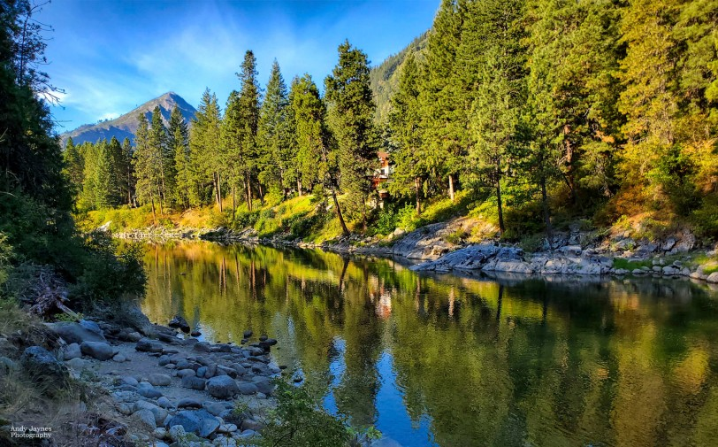 Reflections on the Wenatchee River - 2019