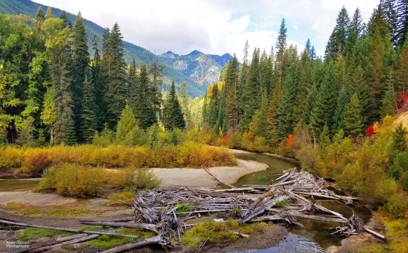 November - Autumn on the White River