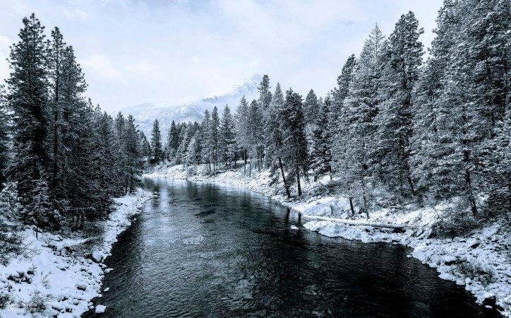 Wenatchee River Winter - 2018