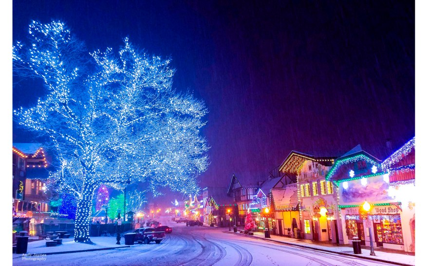 Downtown Leavenworth Lights - 2018