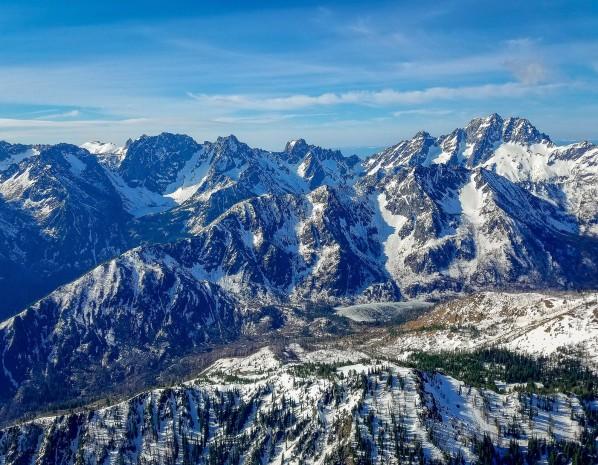 February - Cascade Mountains & Alpine Lakes