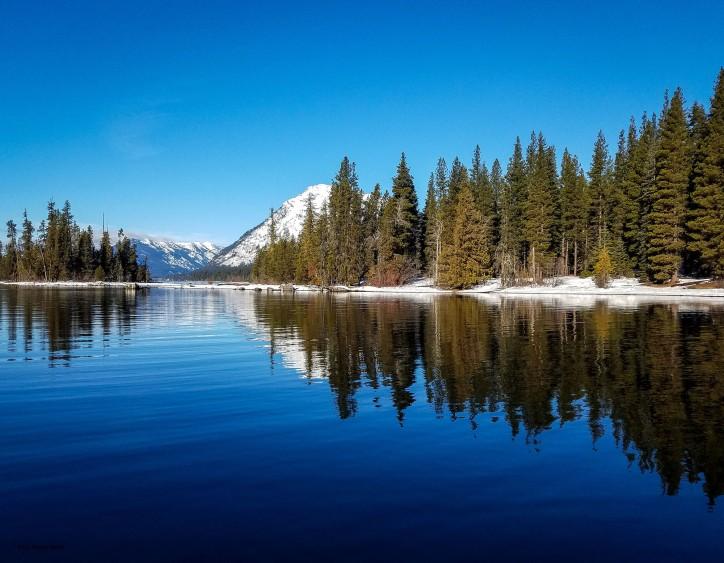 March - Lake Wenatchee Winter Reflections
