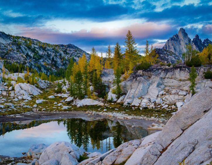 September - Alpine Lakes Sunset